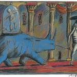 Maja - Rhinocéros blues