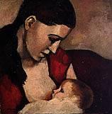 Vignette La tétée - 1925 Evie, le premier enfant
