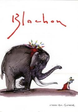 Affiche de l'exposition Blachon