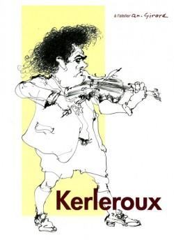 Affiche de l'exposition Kerleroux