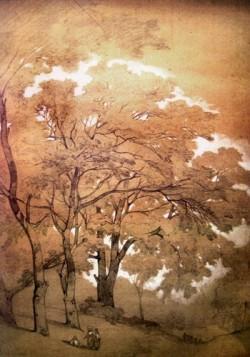 Affiche de l'exposition Autour de l'arbre