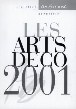 Affiche de l'exposition Les Arts Déco 2001
