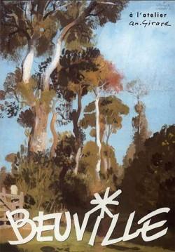 Affiche de l'exposition Georges Beuville