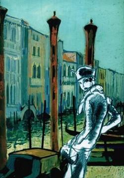 Affiche de l'exposition André Girard – Gus Bofa