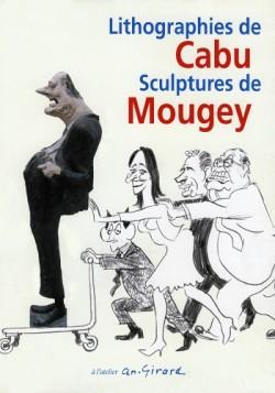 Affiche de l'exposition Cabu & Mougey
