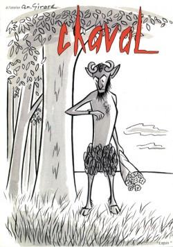 Affiche de l'exposition Chaval