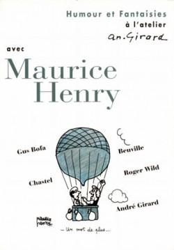 Affiche de l'exposition Maurice Henry