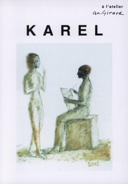 Affiche de l'exposition Karel