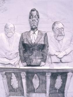 Affiche de l'exposition Philippe Mougey
