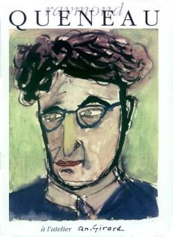 Affiche de l'exposition Raymond Queneau