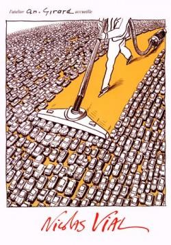 Affiche de l'exposition Nicolas Vial