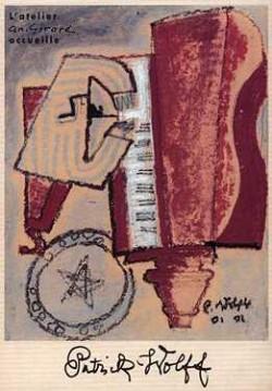 Affiche de l'exposition Patrick Wolff