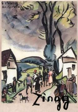 Affiche de l'exposition Jules-Emile Zingg