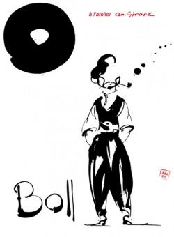 Affiche de l'exposition Boll