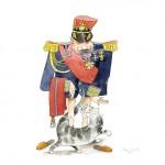 Le général en privé